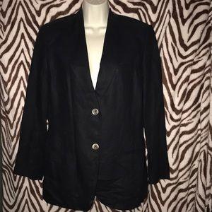 Jennifer Moore petites 8P Black blazer 💕
